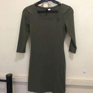 HnM body Con Dress