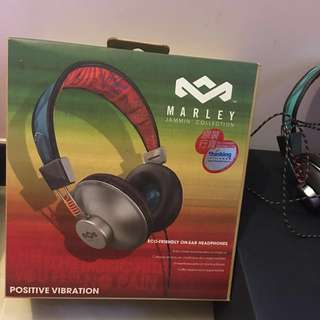 House of Marley Positive Vibrations On-ear Headphones, Pulse