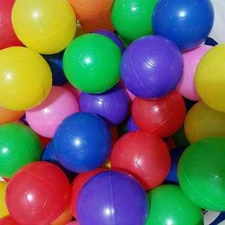 100pcs Colourful Ball