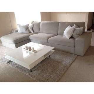 Ikea Kivik Grey Couch Sofa