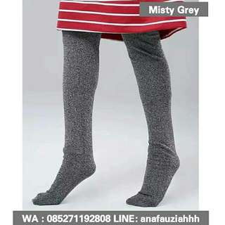 Legging Wudhu Misty Grey