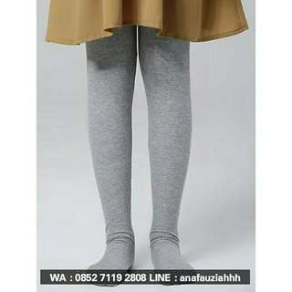 Legging Wudhu Grey/light Grey