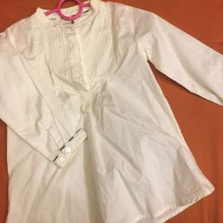 Authentic Burberry White Blouse