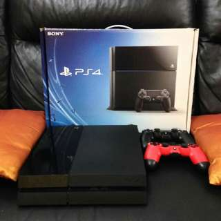 Ps4 Console + Extra Dualshock4 Controller