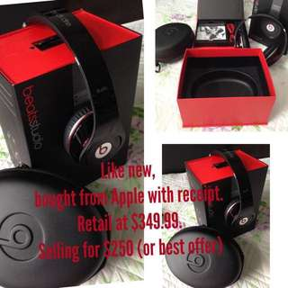 Beats By Dr Dre Studio Over-Ear Headphones