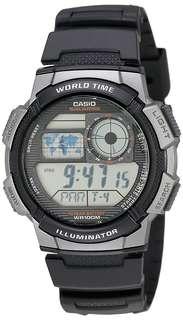 Casio AE-1000W-1B Black Watch For Men - COD + FREE SHIPPING