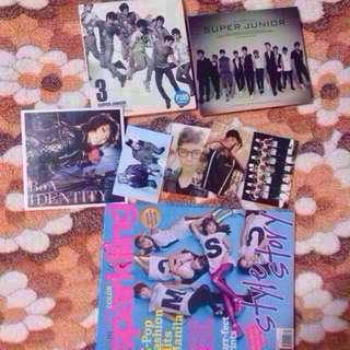 Super Junior KPOP Albums and Other Merch
