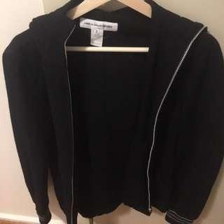 Cdg Shirt wool hoodie XS