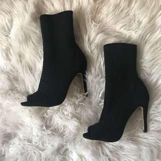 SPRING Open-toe Heels