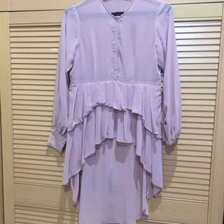 Owned top in light pink color
