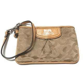 coach autentic coin purse