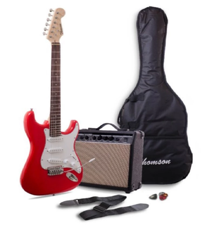 Thomson ST-1 Electric Guitar Package (Red)