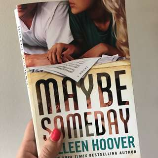 Romance Novel Colleen Hoover Maybe Someday