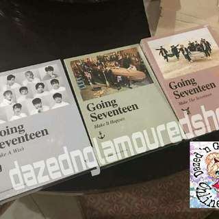 Going Seventeen Albums All Version