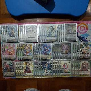 Cardfight Vanguard Japanese Genesis Witch Deck