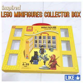 LEGO minifigures collectors box (inspired)