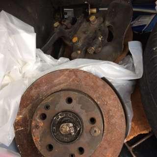 W124 breakdisc