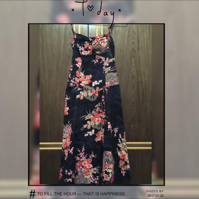 中國風長洋裝
