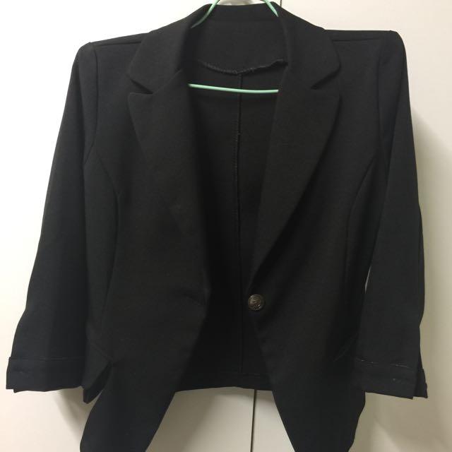 七分袖外套