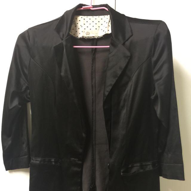 長版七分袖外套