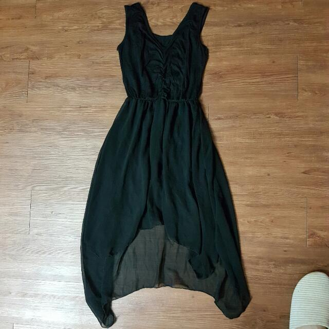 黑色 連身裙 連衣裙