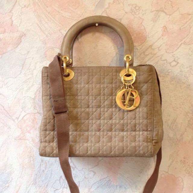 ⭐️真品 Dior 黛妃包 手提包