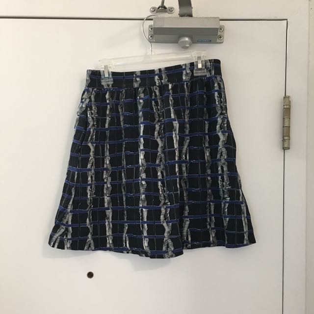 & Other Stories Patterned Skirt Size Small