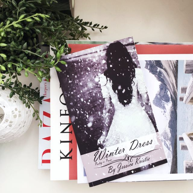 💜 Winter Dress, Poetry and Prose by Jessica Kristie