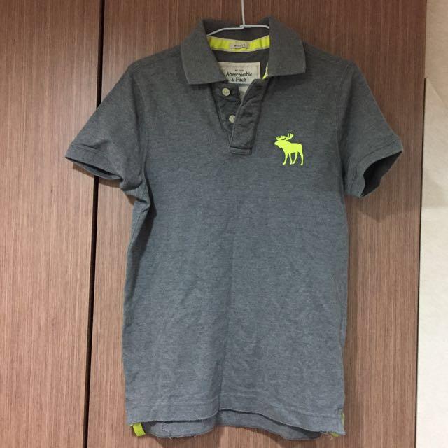 A&F 大麋鹿 短袖polo衫