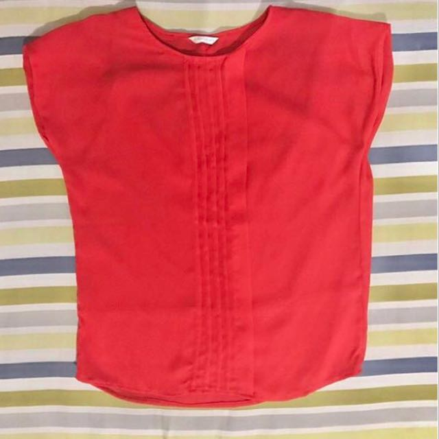 ATMOSPHERE RED BLOUSE