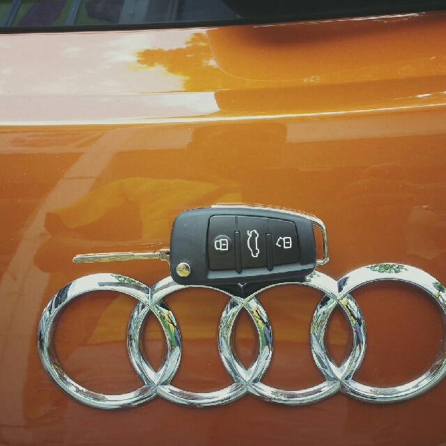 Audi Flip Key Fob