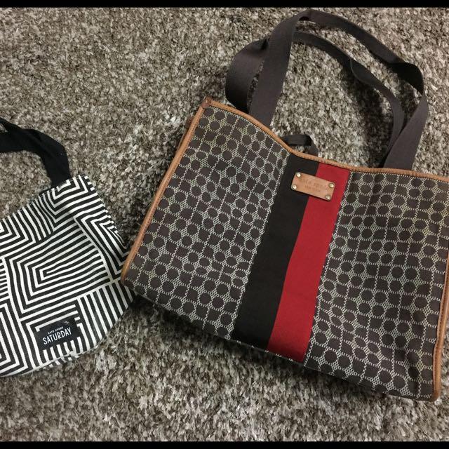 authentic kate spade classic noel brown handbag