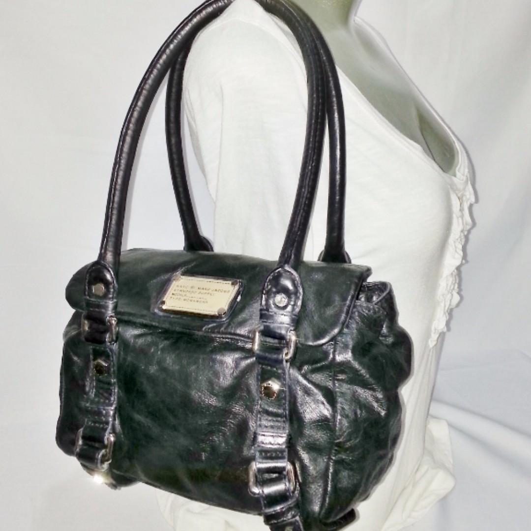 Authentic MARC by MARC JACOBS Leather Satchel Bag