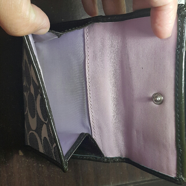 Authentic Preloved Coach Wallet