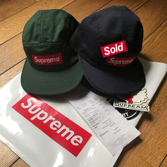 new arrival dd152 9b50d Authentic Supreme Washed Chino Twill Camp Cap, Men s Fashion, Accessories  on Carousell