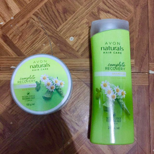 Avon Naturals Hair Care