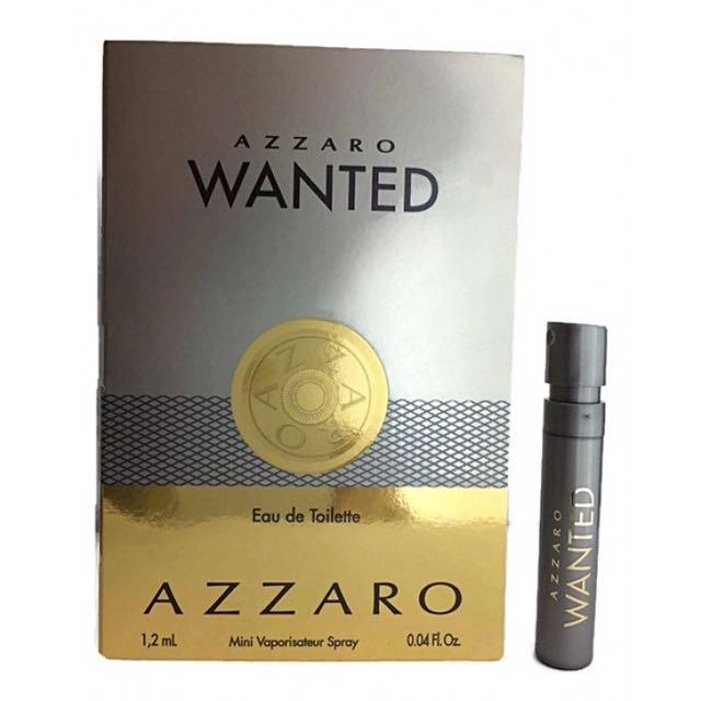全新正品AZZARO wanted淡香水1.2ml 羅瑞斯阿莎露