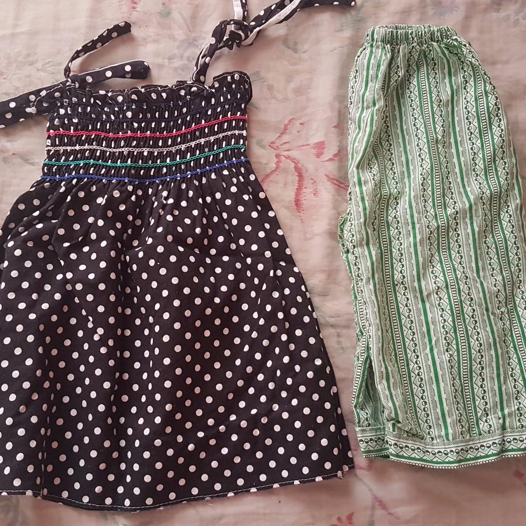 BABY DRESS & PAJAMA