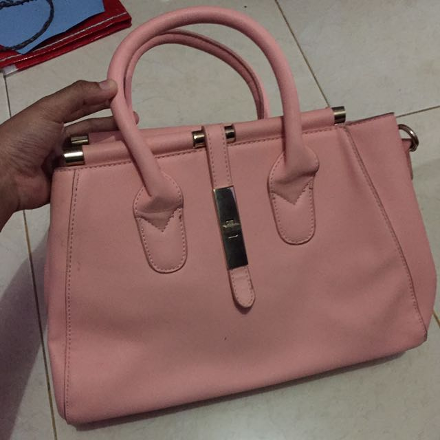 Bag baby pink