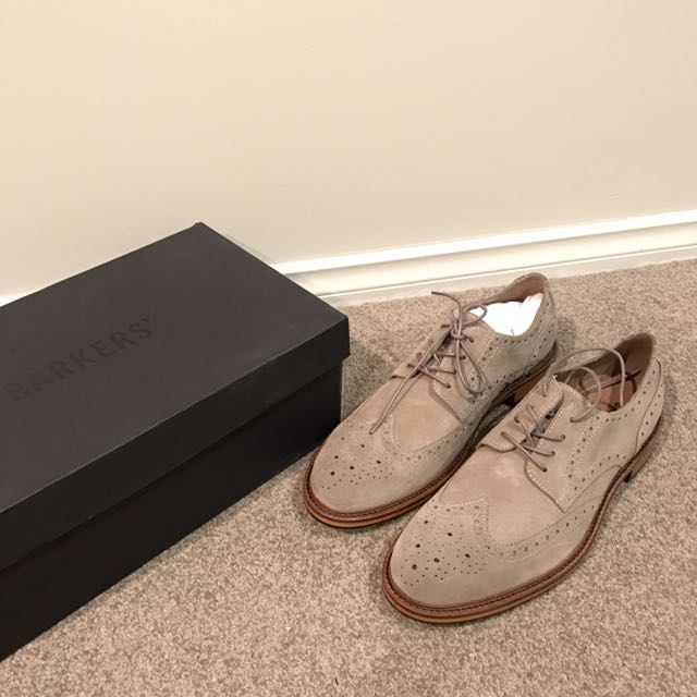 BARKERS SUEDE SHOES