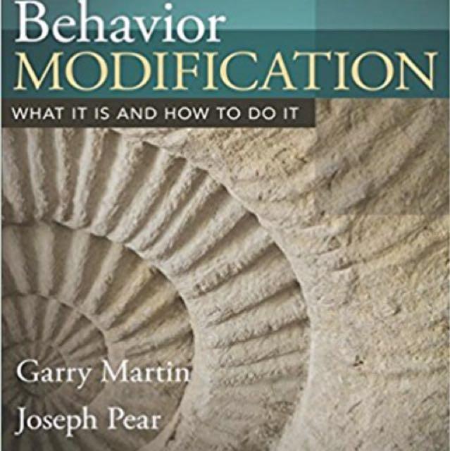 Behavior Modification 10ed
