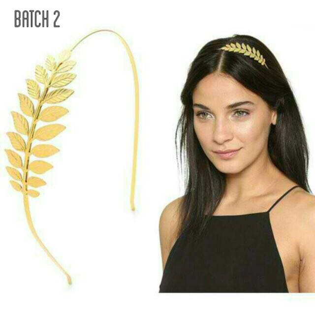 BESTSELLER! Gold Goddess Headband on-hand and available! 7d2ecd34d03