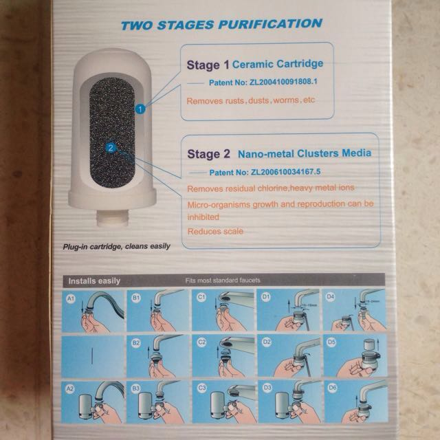 BINB; Faucet Water Filter (Hi-tech Ceramic Cartridge)