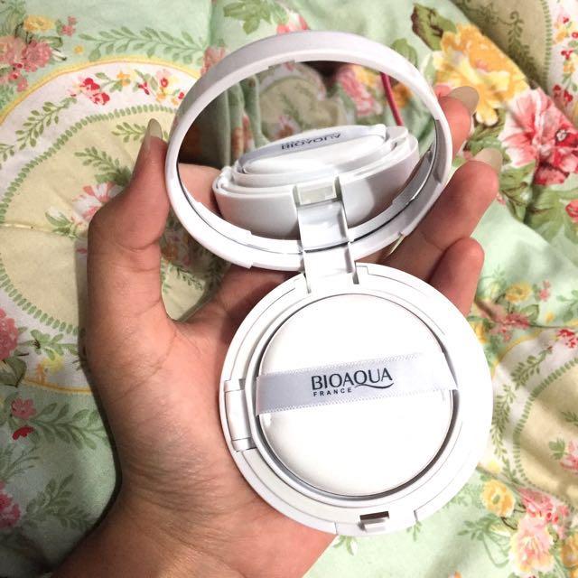 Bioqua Liquid Foundation Concealer Brightening Bb Cream Air Cushion
