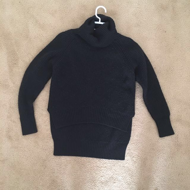 Black Wilfred Free Lin Sweater