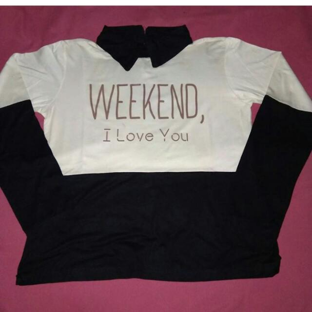 Blouse Yes Weekend