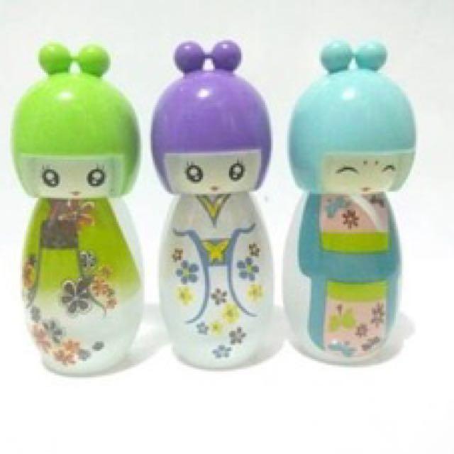 Botol Parfum Spray Boneka Jepang
