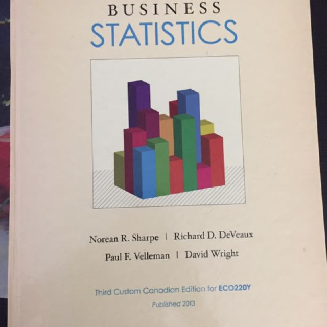 Business Statistics (3rd Canadian Edition)