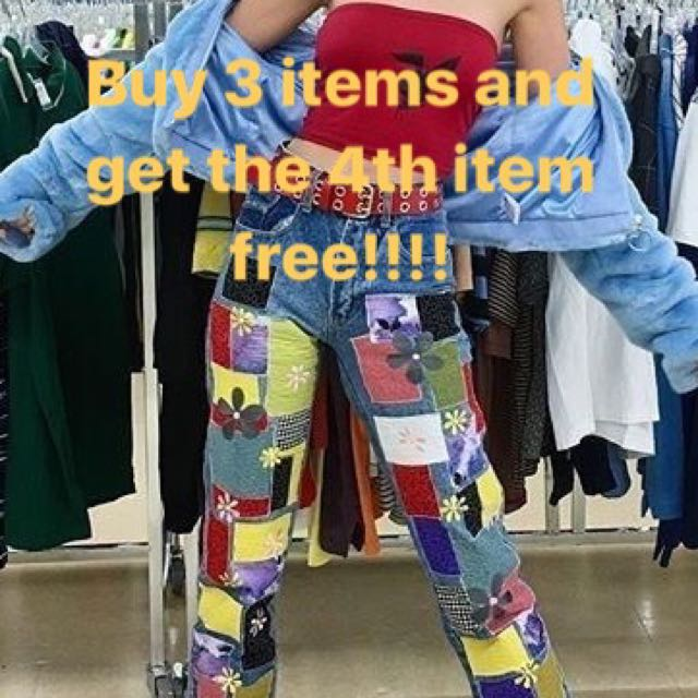 BUY 3 get the 4th FREE