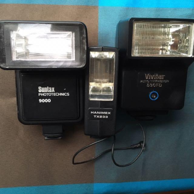 camera electronic flash